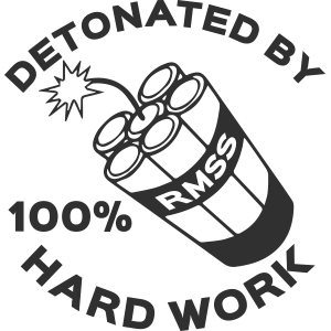 Detonated by Hard Work 1